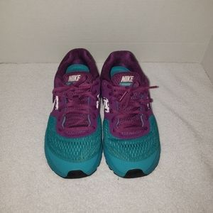 Nike Pegasus Purple and teal size 6.5